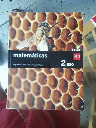 Libro de Texto Matemáticas 2 Eso Sm Savia