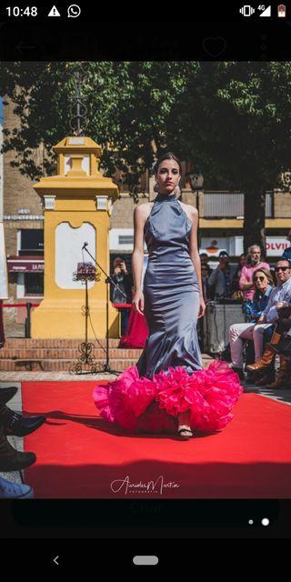 Traje vestido de flamenca