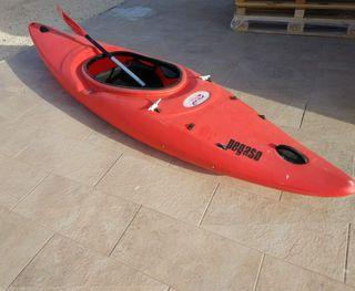 Kayak, asiento y remo