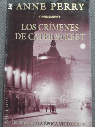 Libro: Los crímenes de Cater Street (Anne Perry)