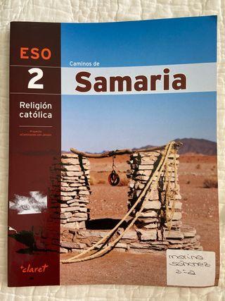 Libro religión 2º ESO