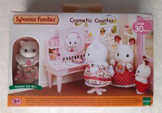 Sylvanian Family Tocador Cosmetic Counter