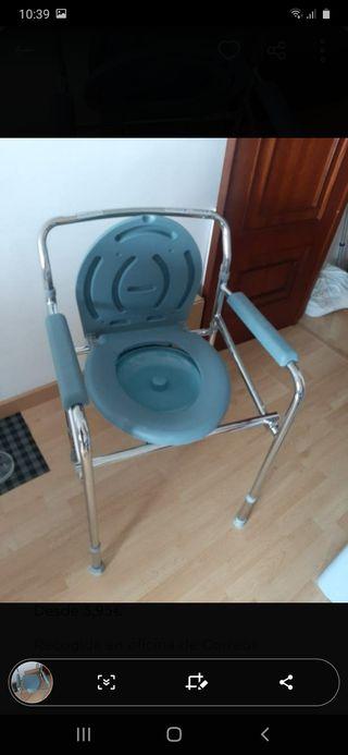 silla de baño para ducha o inodoro ,wc portatil