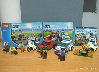 Lego Policías y ladrones