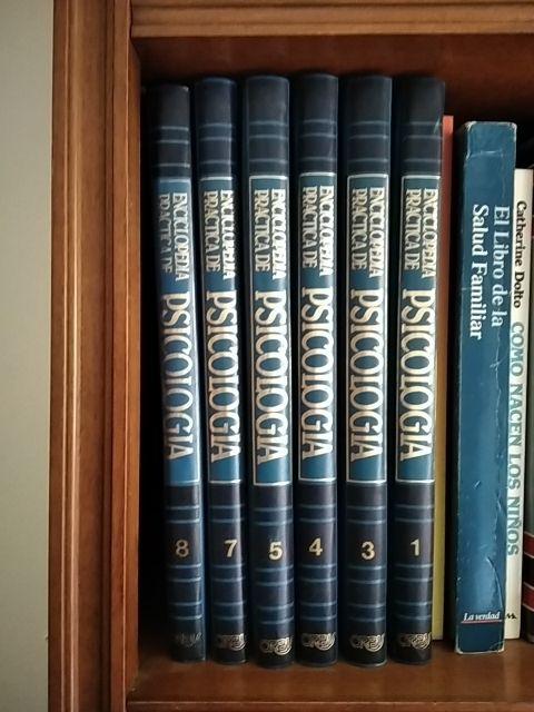 enciclopedias varias de educación, pisocologia