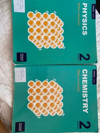 Libro física y química inglés 2°ESO