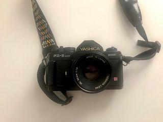 Yashica Fx-3 Súper 2000 con objetivo 50mm