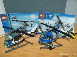 Lego Helicópteros Policía + TV