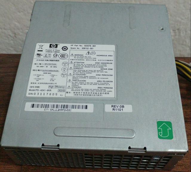 Fuente alimentación 240w para Hp 8100