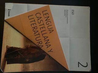 LIBRO LENGUA CASTELLANA Y LITERATURA 2 ESO