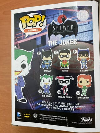 Funko pop the joker 155
