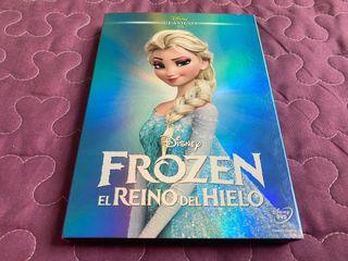 FROZEN El Reino de Hielo DVD con Funda (Slipcover)