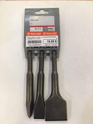 Set Bosch SDS plus 3 cinceles