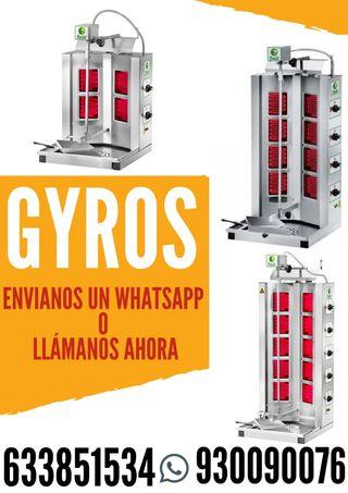 GYROS ELECTRICO PARA KEBAB