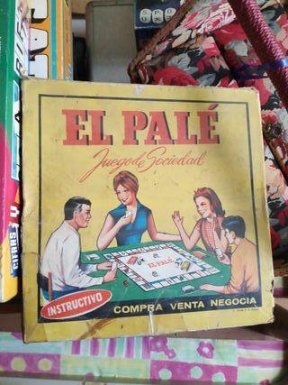 Juego de mesa antiguo El palé