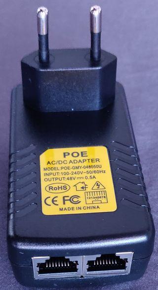 Inyector PoE (48V, 0.5A)