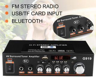 AMPLIFICADOR BLUETOOTH MP3 600W