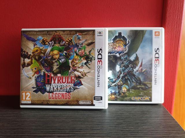 Hyrule Warriors + Monster Hunter 3