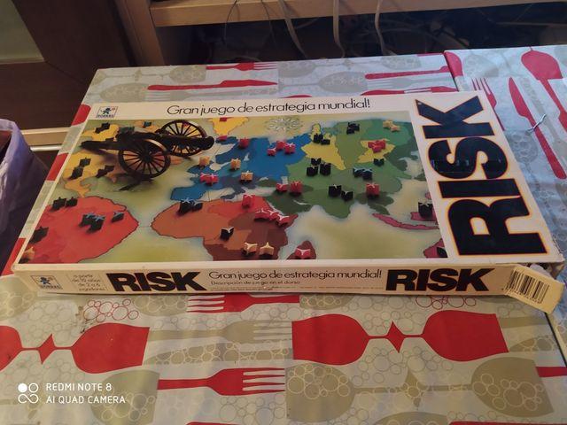 juego de mesa Risk año 1985