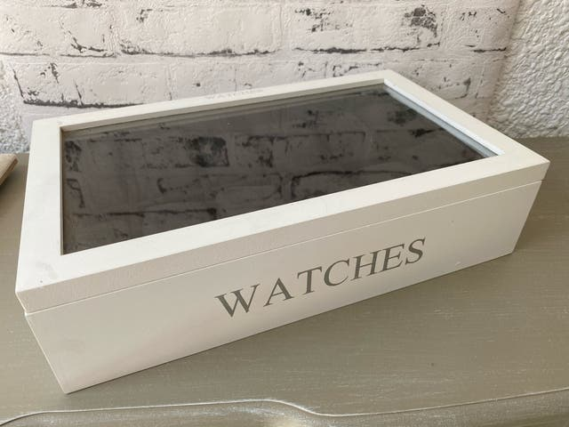 Estuche caja para 12 relojes