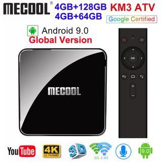 TV Box MECOOL KM3 4Gb/64Gb
