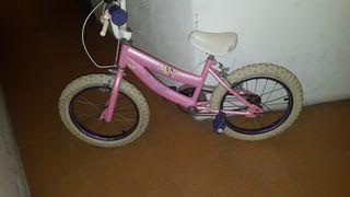 "bici de ""princesas Disney"""