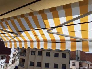toldo balcon u terrasa