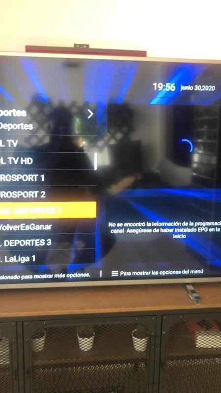 smart TV ,canales por internet