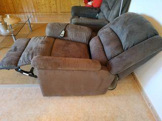 Sofá sillón relax eléctrico reclinable