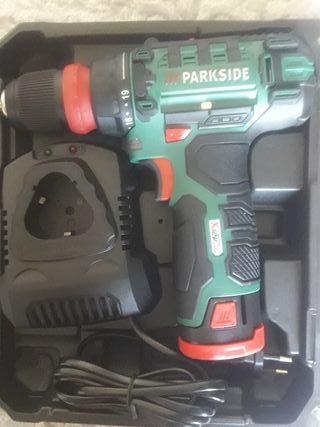 atornilladora taladradora recargable ParksidePBSA