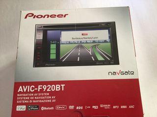 Pantalla DVD con navegador Pioneer AVIC f920bt