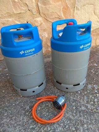 Regulador y manguera para gas