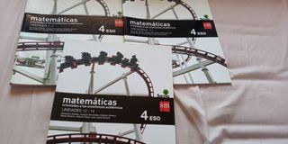 libro matemáticas 4to eso savia sm