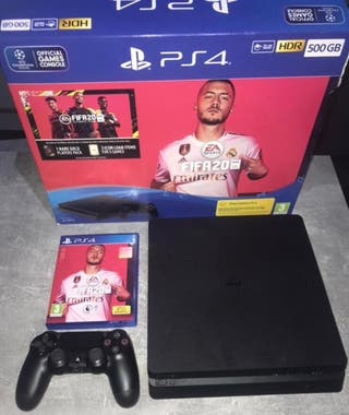 PS4 with Fifa 20