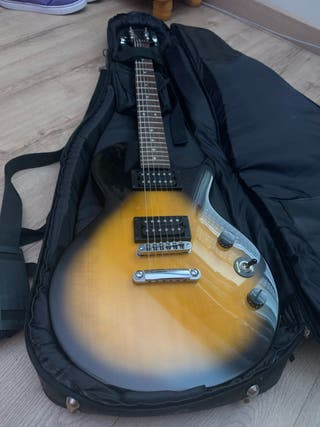 Guitarra+Amplificador Les Paul