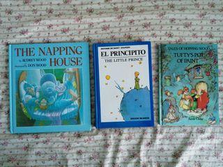 Lote de 3 libros en inglés juveniles