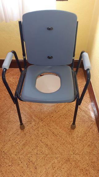 Silla con wc