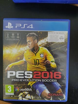 Videojuego de PS4 PES 2016