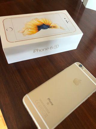 iPhone 6s gold 64GB blanco