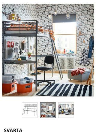Litera-escritorio Svarta de Ikea