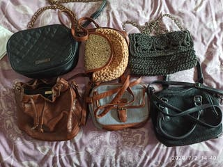 6 bolsos de mujer