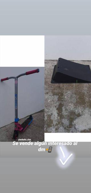 Scooter mpg y cuesta para saltar