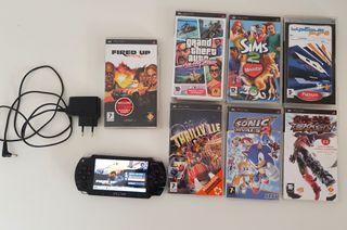 Pack PSP + JUEGOS originales