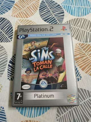 PS2 Los Sims toman la calle versión Platinum