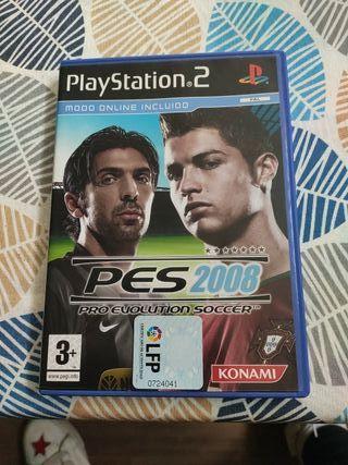 PS2 PES 2008