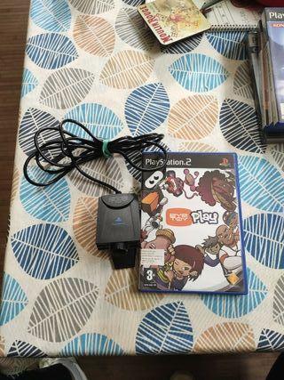 PS2 Eye Toy más Eye Toy Play