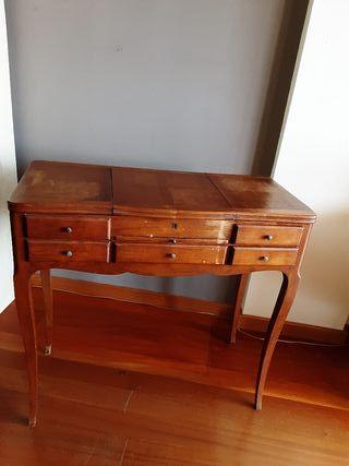 tocador madera vintage