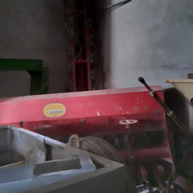 Sembradora de cebada