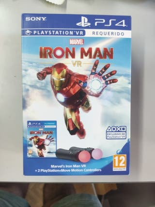 Iron Man VR + 2 PS Move controllers - Nuevo- PS4