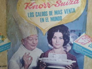 ANTIGUO EXPOSITOR knorr